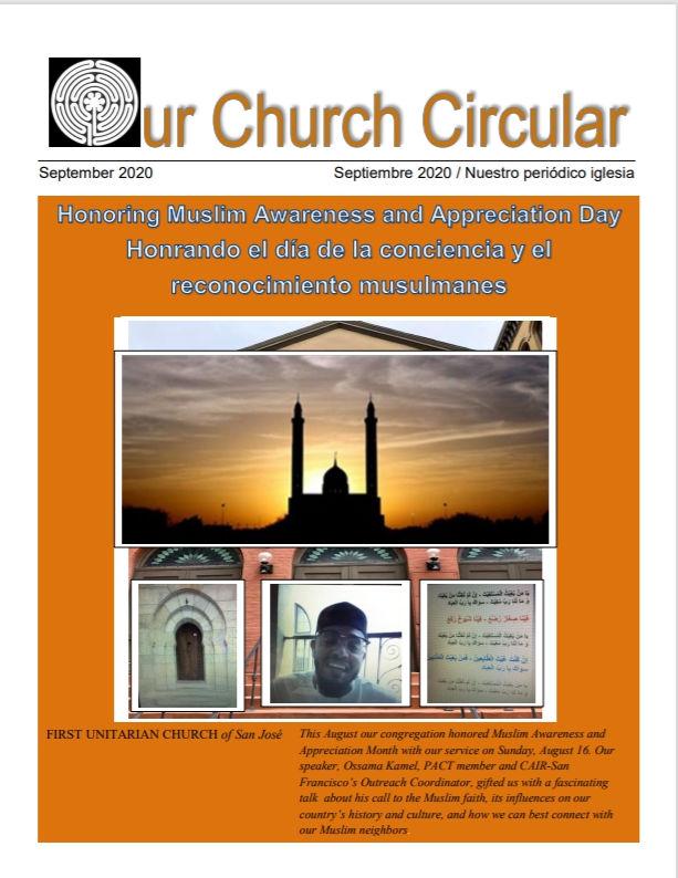 Our Church Circular, September, 2020