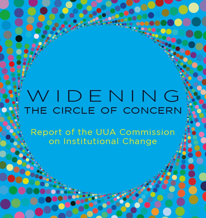 """Book cover for """"Widening the Circle of Concern."""""""